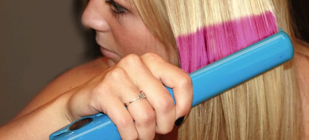 Change Your Hair Color By Etching Nano-Patterns Into Each Strand