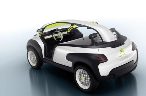 Citroën Lacoste Concept: Pretty Preppy Trendy Crap