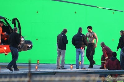 Man of Steel — Even More Green Screen Pictures