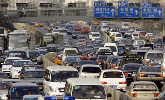 10 incredible traffic jam videos, from around the world