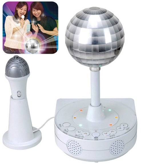 Sega's Disco Karaoke Machine Twirls Its Disco Ball, Connects to Cellphones