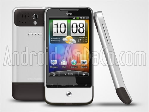 Trio of HTC Phone Official Pics/Specs Leaked: Meet Desire, Legend, and Touch HD Mini