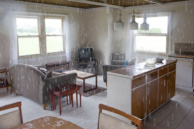 You Don't Want to Live Inside This Perpetually Rainy House