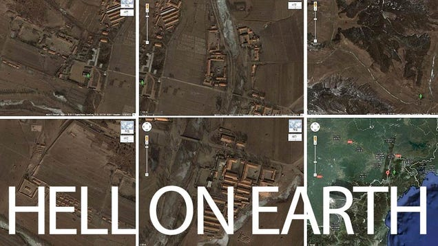 North Korean Camps Shown In Unprecedented Detail By