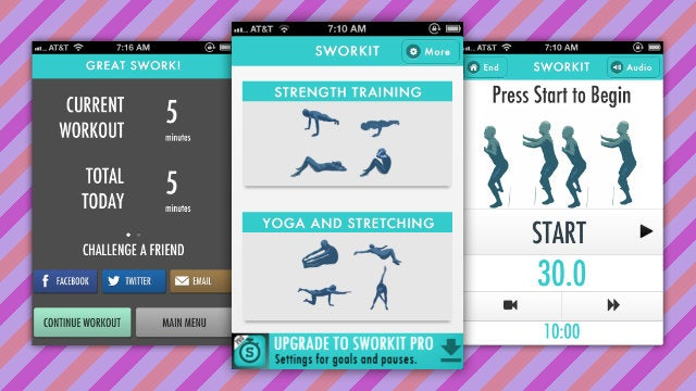 Sworkit Adds Daily Totals, Calories Burned, and Gets a Brand New Design