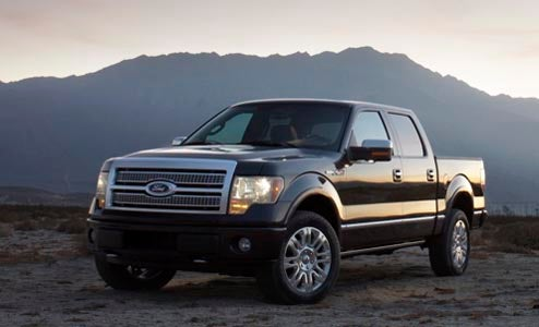 Ford To Offer Trade-In Cash Back, Financing Incentives, Kitchen Sink To 2009 F-150 Buyers