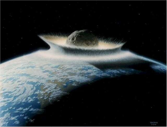 Why a massive meteorite strike could be the best thing to happen to us