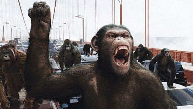Felicity joins the Dawn of the Planet of the Apes, but as a human or a primate?