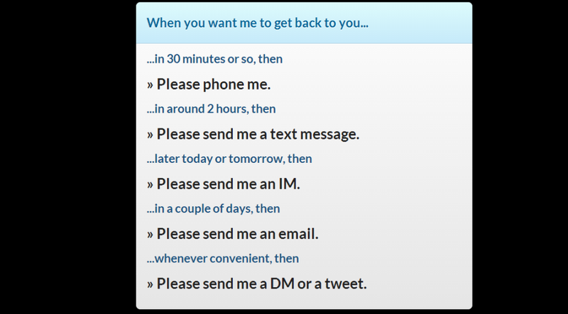 Set Urgency-Based Rules to Streamline How People Get In Touch
