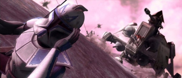 Cool Concept Art And Deleted Scenes From Clone Wars DVD