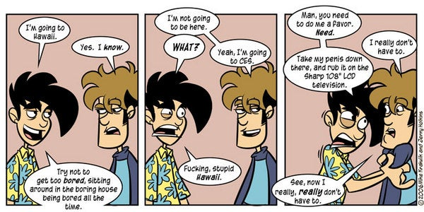 Penny-Arcade on CES: Part 1