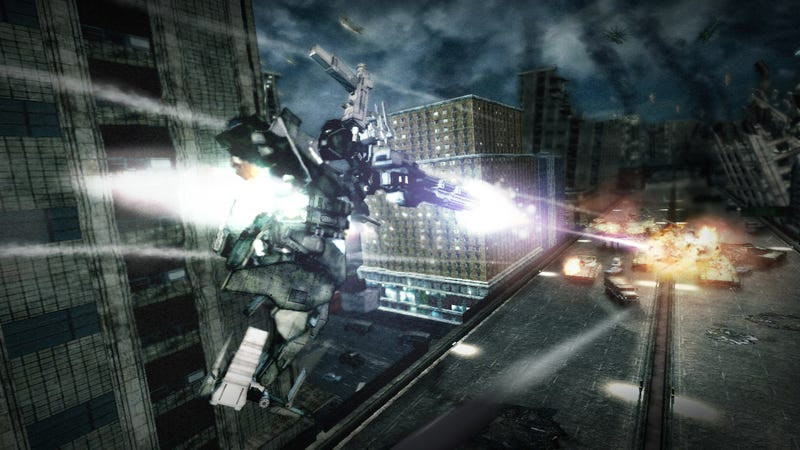 Armored Core V Has Reviewers Scratching Their Massive Metal Heads
