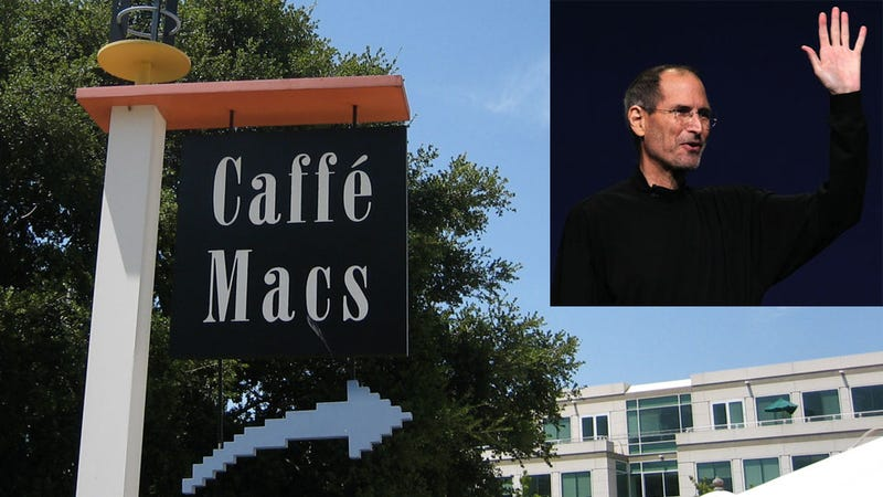 Steve Jobs Is Hanging Out at Apple Again