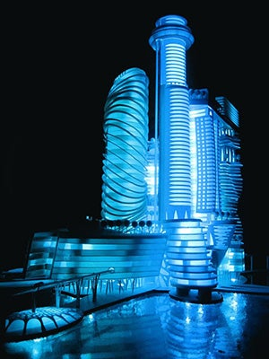 Giant Boner Space Hotel? No Thanks, Says Barcelona