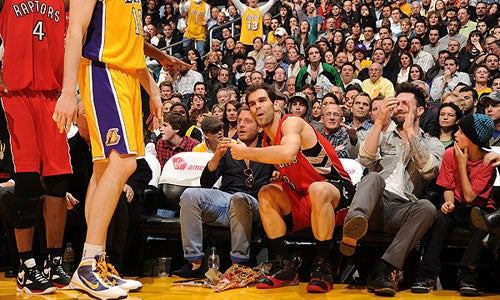 Playboy Fiat Heir Interferes With NBA Game, Helps Lakers Win
