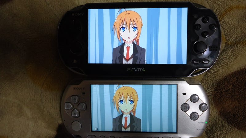 How Does the PS Vita's Screen Stack Up to the PSP's?