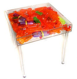 Super Soaker Coffee Table