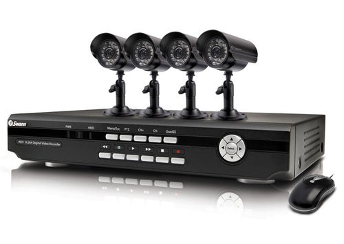 Swann DVR4-2500 Home Security System Has Four Cameras and iPhone Streaming