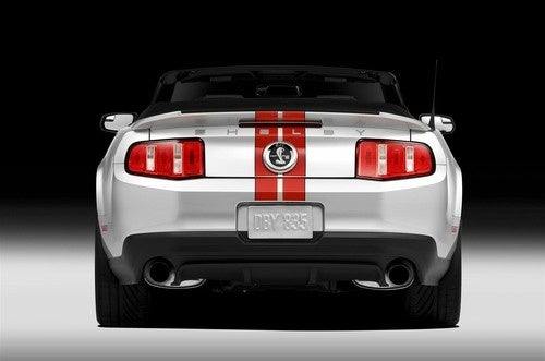2011 Ford Mustang GT500 Convertible