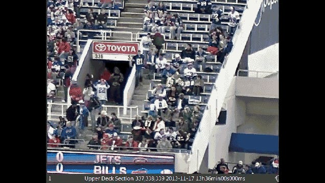New Video Of Bills Fan Falling From Upper Deck Leads To Conviction