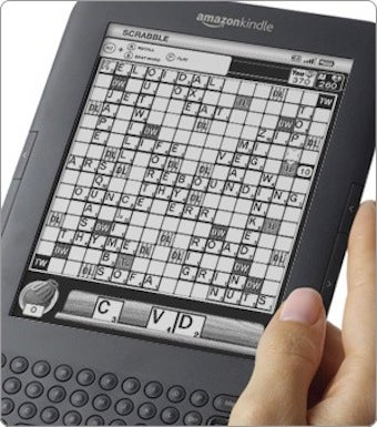 The Kindle's First Paid App: Scrabble
