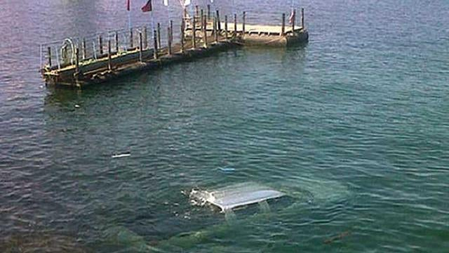 Driving instructor bails after woman drives into ocean
