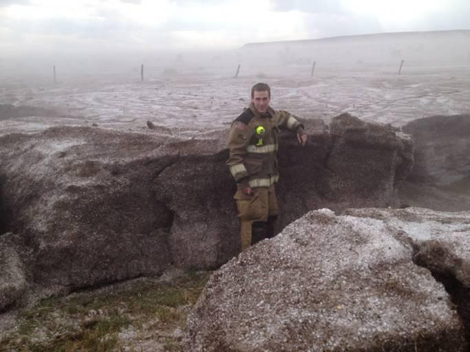 Believe It Or Not: This Is What Four Feet Of Hail Look Like