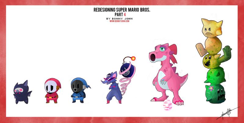 Redesigning Super Mario Bros. Part 4
