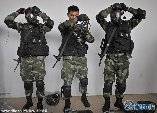 With Military Drills, China Steps Up Its Security