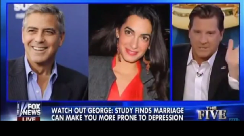 Fox News' Eric Bolling 'Kidding' about George Clooney Being Gay