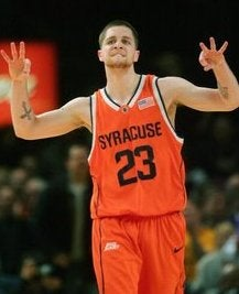 Syracuse Guard A Little Too Shove-y For His School's Taste