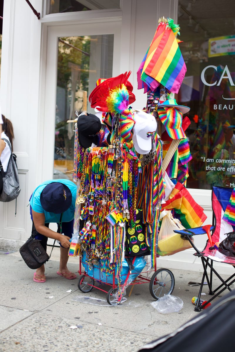 During the Pride Parade, Fairies and Queens Take Over 5th Ave
