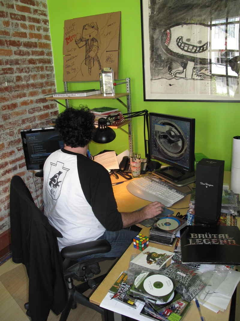 Tim Schafer and Cliff Blezinski: A Peek Inside Their Offices