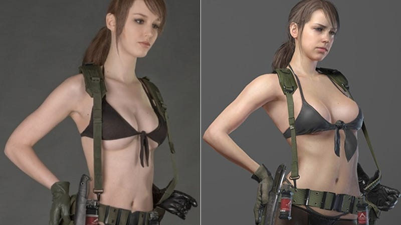 Metal Gear's Creator Wanted Sexy Cosplay and, Well, He Got It