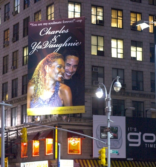 Are the 'Charles & YaVaughnie' Billboards the Work of a Scorned Mistress?