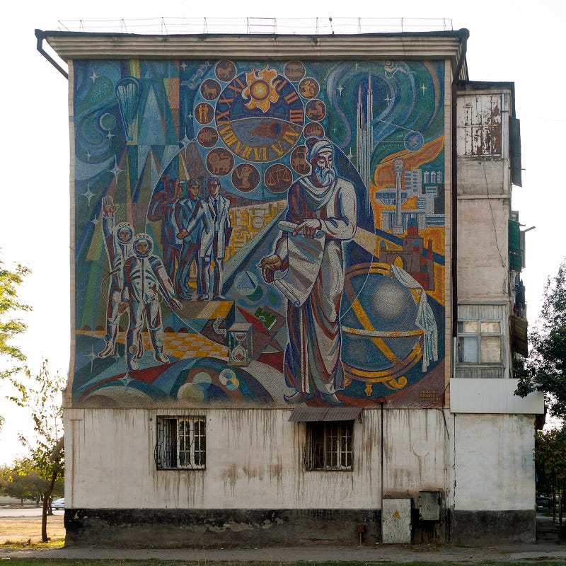 The Melancholy, Crumbling Remains Of Great Socialist Murals