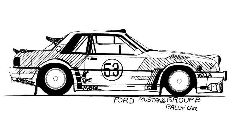 This Is What A Group B Mustang Might Have Looked Like