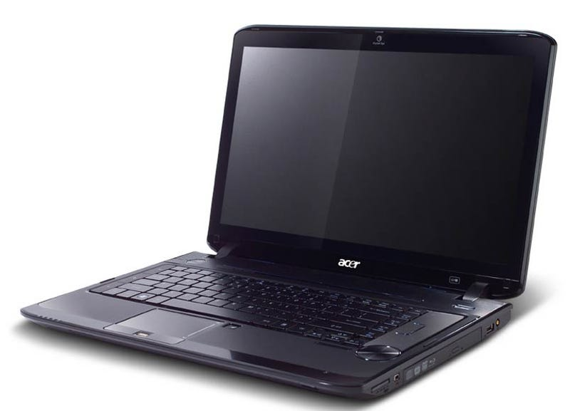 The Slim Acer Aspire 3935, and the Behemoth Aspire 8935G