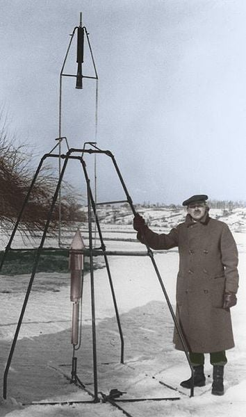 Why did they mock Robert Goddard's dream of space flight?