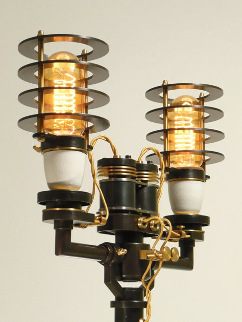 Retro light sculptures to decorate your mad scientist's laboratory