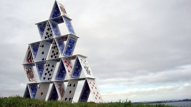 I Promise You Can't Knock Down This House of Cards