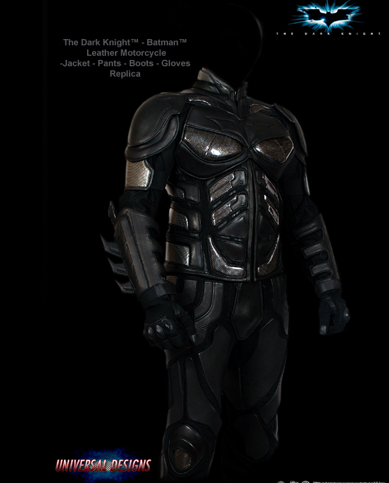 Dark Knight Motorcycle Suit Gets You Accepted Into The Nerd's Angels