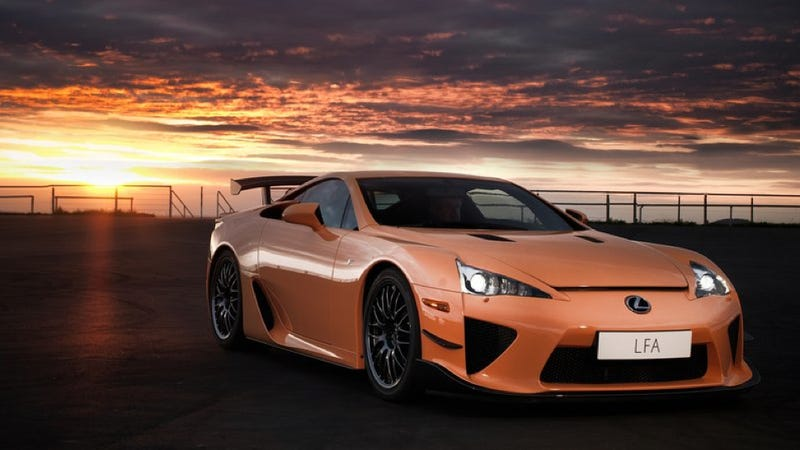Another Lexus LFA Is Coming, But It Might Take 30 Years
