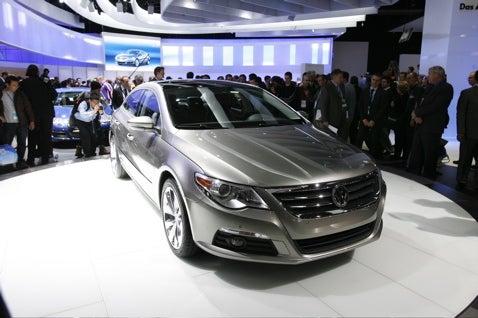 Detroit Auto Show: Volkswagen Passat CC Four-Door Coupe Live