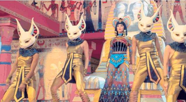 What the hell is going on in Katy Perry's new Music Video?