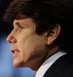 Rod Blagojevich: Putting All Republi-Scandals To Shame