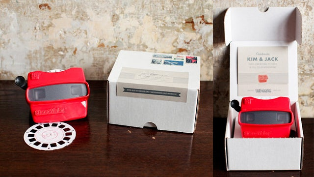 Is Your Love Worthy Of Ridiculously Twee $3,450 Custom Wedding Invitation Viewmasters?