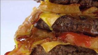 That Paunch Burger Ad