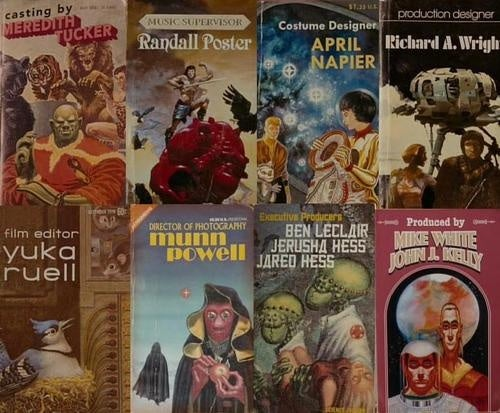 The Real Scifi Book Covers Of Gentlemen Broncos