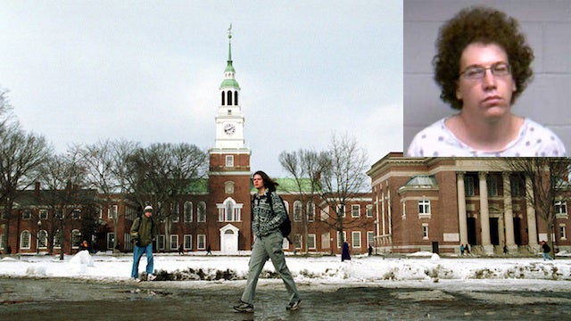 Dartmouth Chemistry Grad Student Busted for Meth Lab